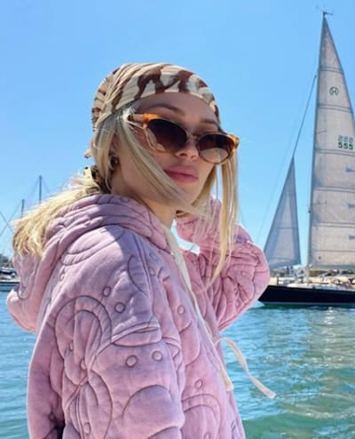 Cassie Randolph at Sea
