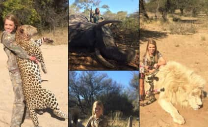 Facebook Removes Kendall Jones Hunting Photos