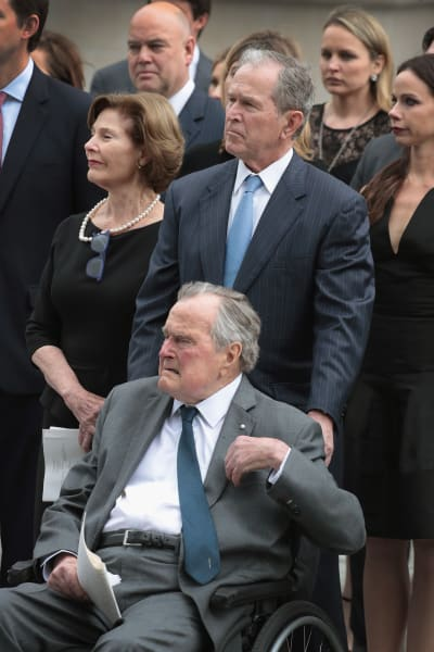 George Bush, the First