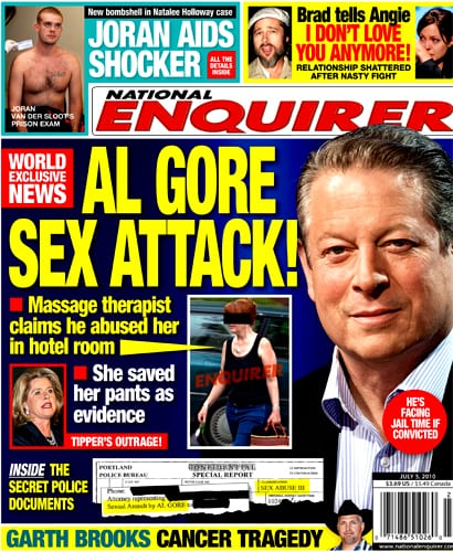 Al Gore Sexual Assault