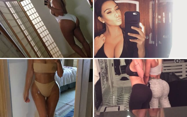 Kim kardashian bathing suit body