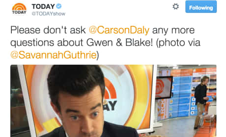 Carson Daly: Today Show Pic