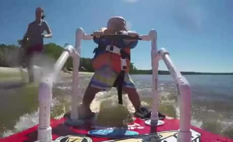 6-Month Old Breaks Waterskiing Record, Parents Come Under Fire