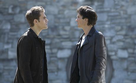 Stefan Against Damon