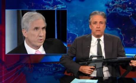Jon Stewart, Plastic Gun