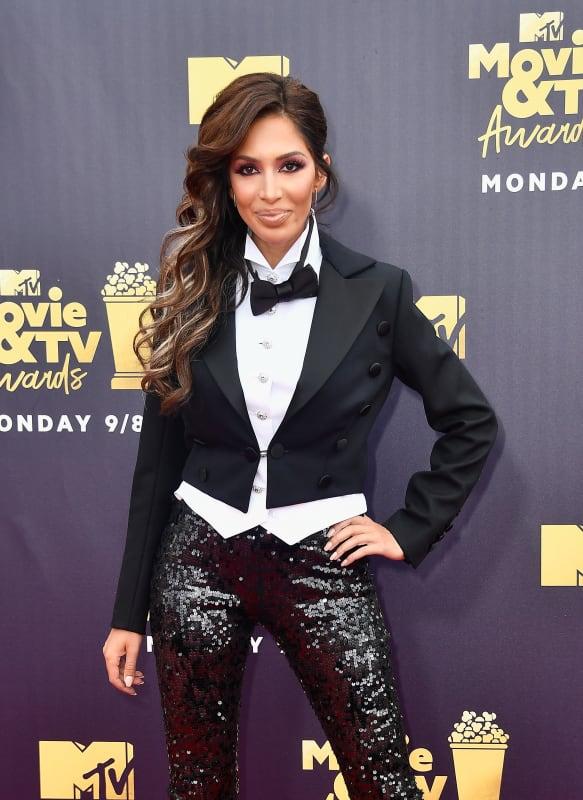 Farrah abraham dressed like a magician