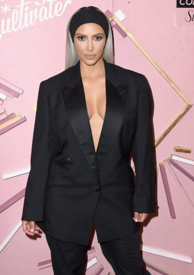 Kim Kardashian at Some Event