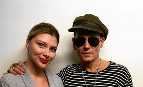 Johnny Depp and a Russian Fan