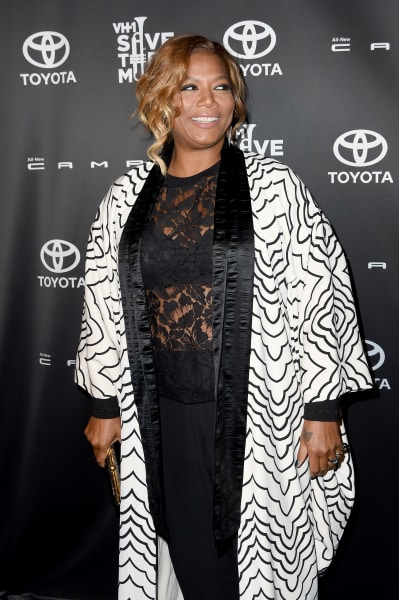 Queen Latifah on a Red Carpet