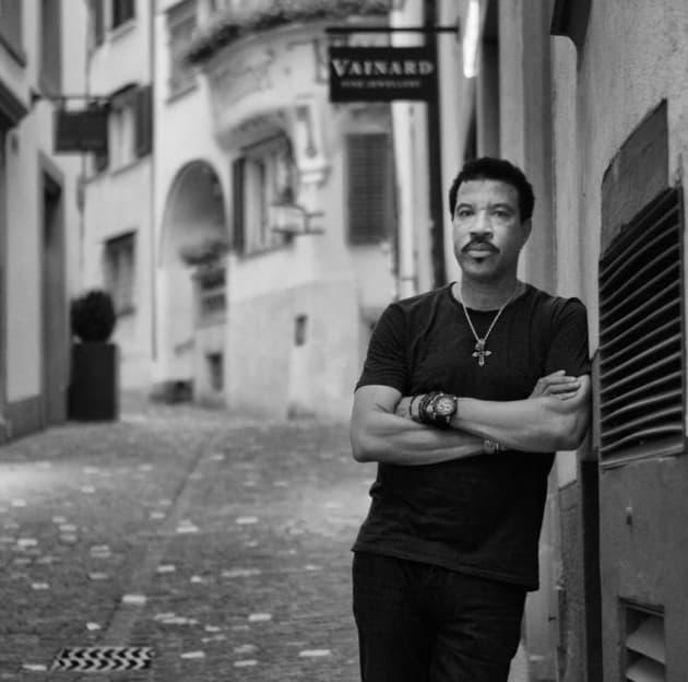Lionel Richie In Switzerland