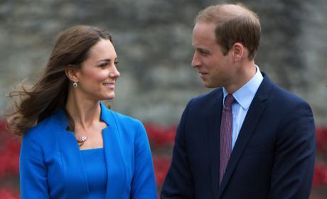 The Duke and the Duchess of Cambridge