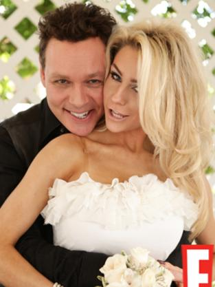 Doug Hutchinson and Courtney Stodden Wedding Pic