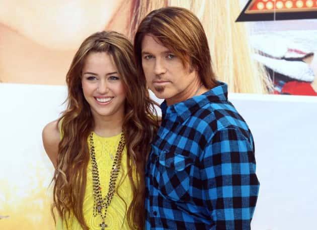 Miley and Creepy Dad