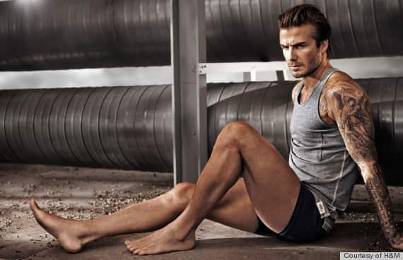 David Beckham H&M Photo