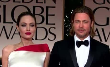 Brad Pitt Buys Angelina Jolie A LOT of Jewelry