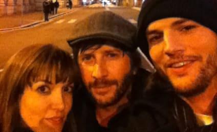 Ashton Kutcher and Lorene Scafaria: Not Dating, Rep Claims