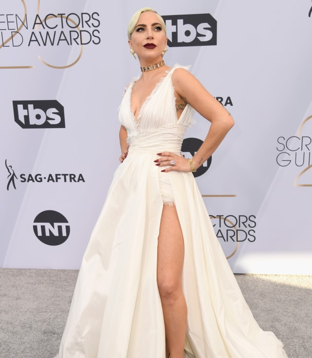 Lady gaga at the sags