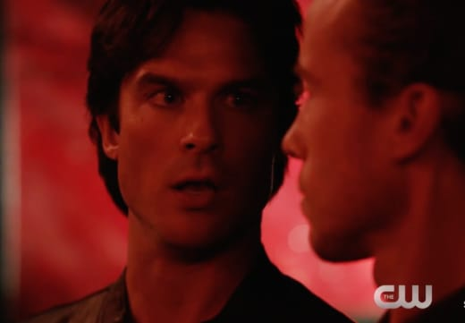 Damon and Stefan on The Vampire Diaries Season 8