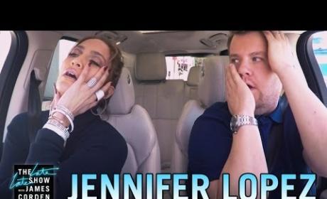 Jennifer Lopez Joins James Corden for Carpool Karaoke