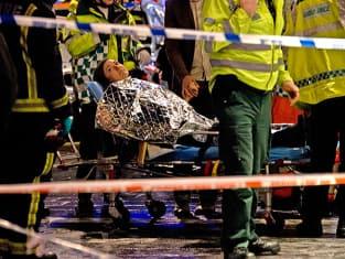 London's Apollo Theatre Collapses