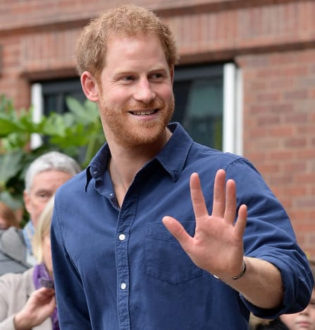 Prince Harry in 2016