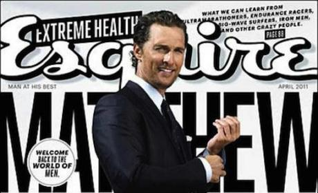 Matthew McConaughey Esquire Cover