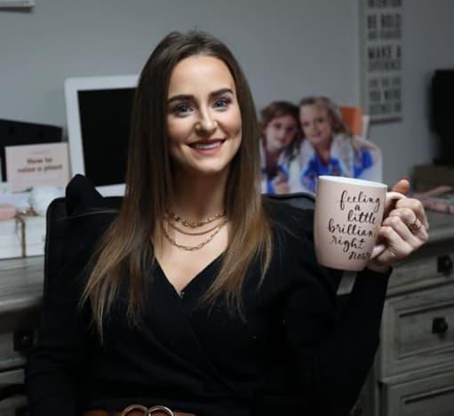 Leah Messer with a Mug