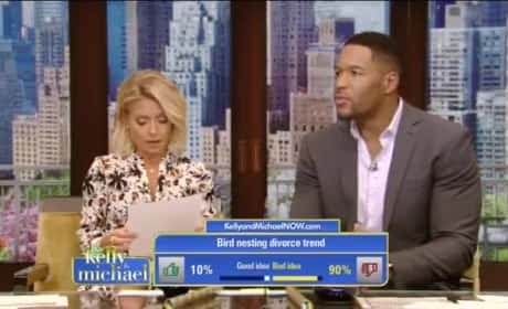 Kelly Ripa Just Brought Up Michael Strahan's Divorce