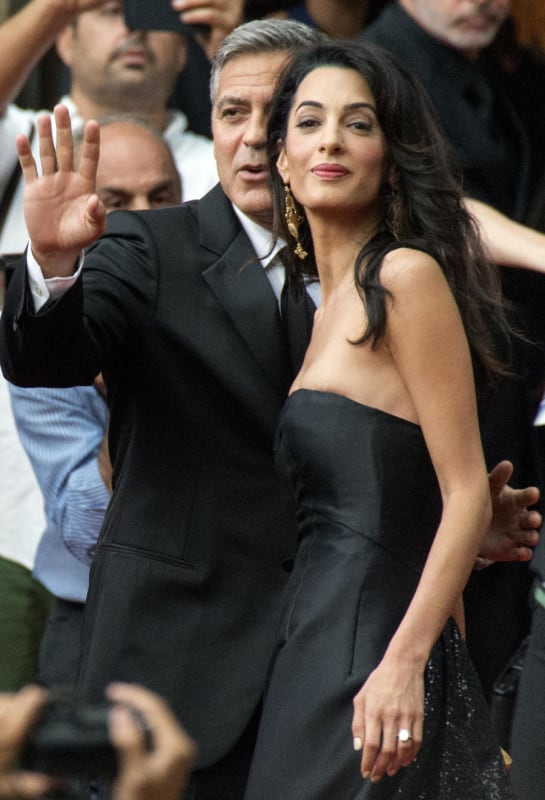 43f9050f34 George Clooney and Amal Alamuddin Photos  So In Love! - The ...