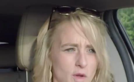 Leah in the Car