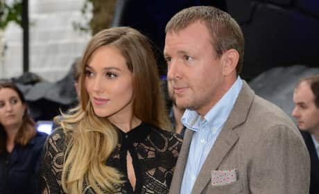 Jacqui Ainsley and Guy Ritche