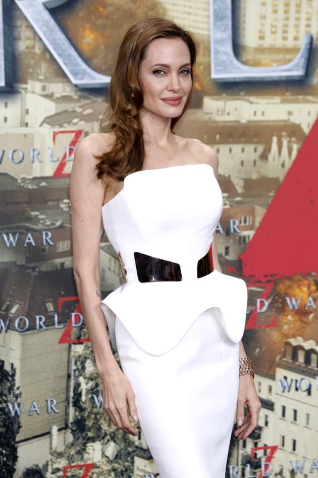 Angelina Jolie at Film Premiere