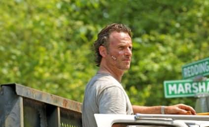 The Walking Dead Season 6 Pic: Rick at a Crossroads