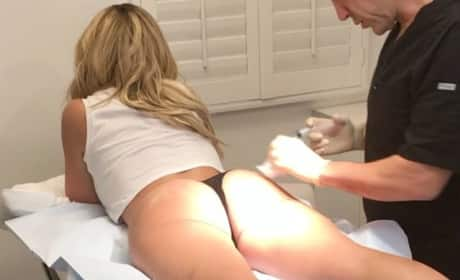 Kim Zolciak Butt Injections Instagram