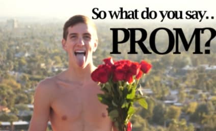 Teenager Strips Down, Asks Miley Cyrus to Prom