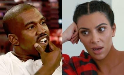 Kim Kardashian & Kanye West: Living Separate Lives, Headed For Divorce [Report]