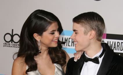 Justin Bieber and Selena Gomez: Flying High!