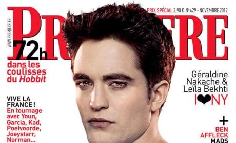 Robert Pattinson Premiere Cover