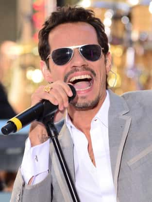 Marc Anthony on the Mic