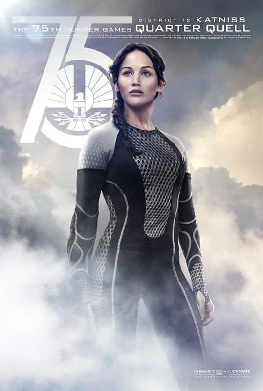 Catching Fire Character Poster Katniss