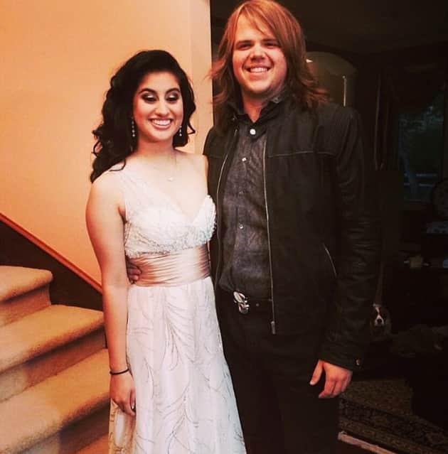 Caleb Johnson and Jena Irene Prom Pic