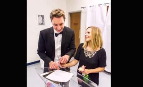 Kristen Bell Wedding Dress