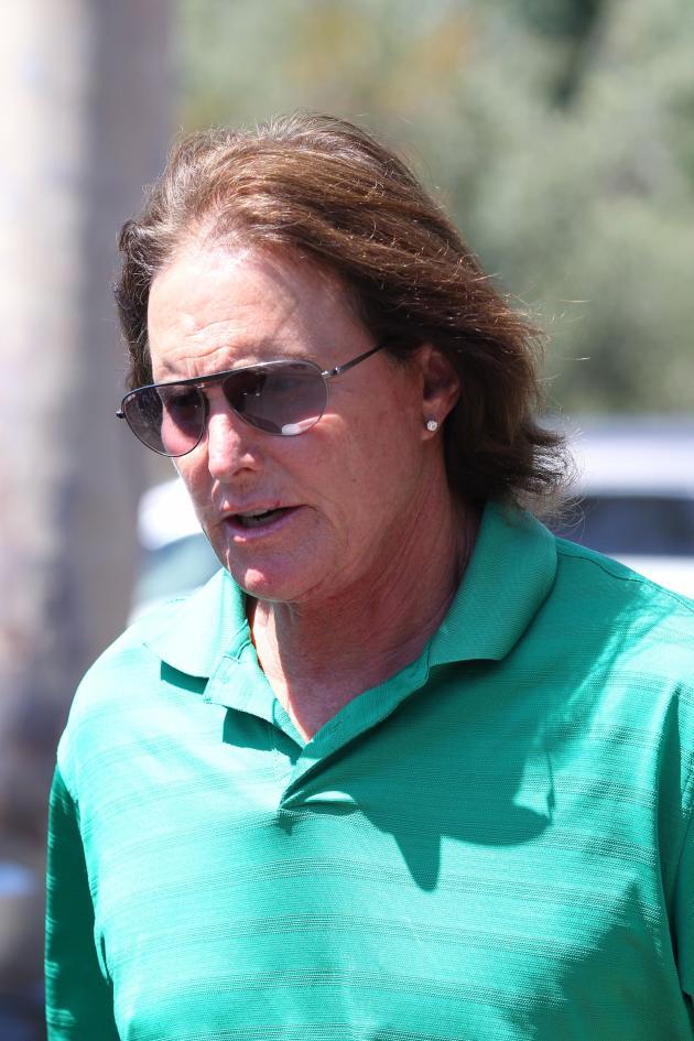 Bruce Jenner on the Street