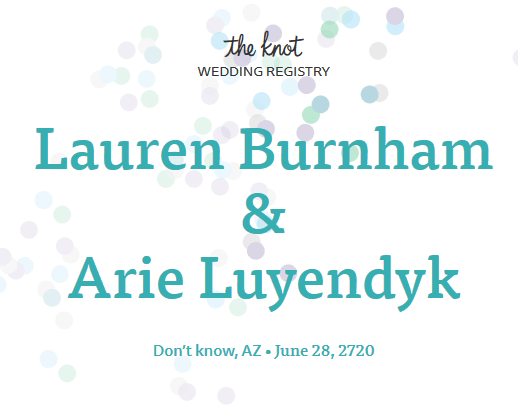 Arie Luyendyk Jr. and Lauren Burnham Wedding Date