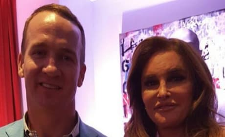 Peyton Manning and Caitlyn Jenner