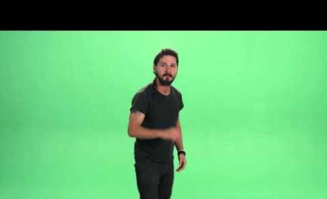 Shia LaBeouf Green Screen Rant: WTH is Happening Here?!?