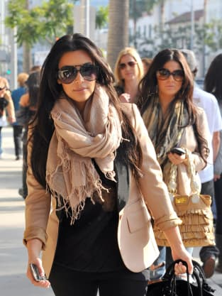 Kim Kardashian in Beverly Hills