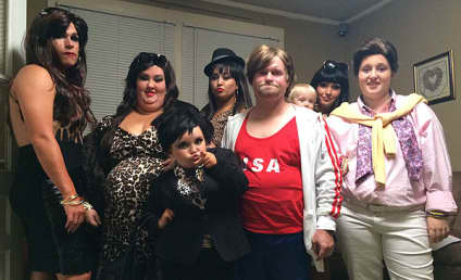 Honey Boo Boo and Family: The Kardashians for Halloween!
