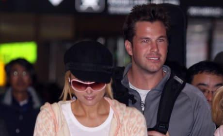 Doug Reinhardt and Paris Hilton