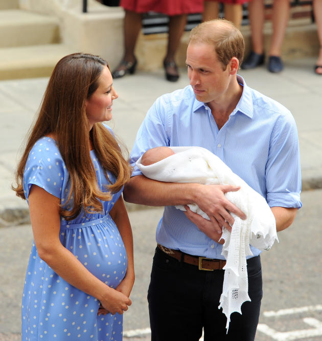 Kate Middleton, Prince William and Baby